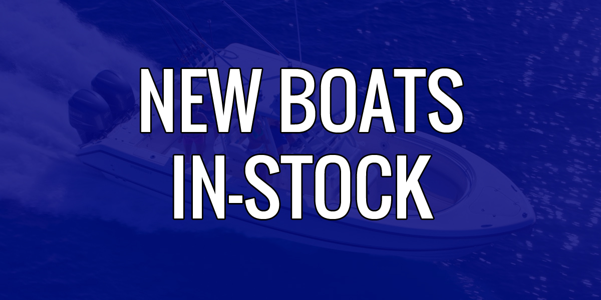 new boats in-stock