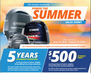 Yamaha Summer Sales Event
