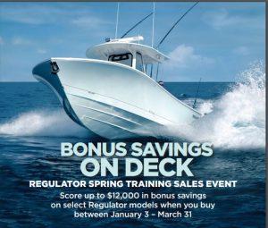 Regulator Sales Event