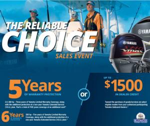 Yamaha Sales Event